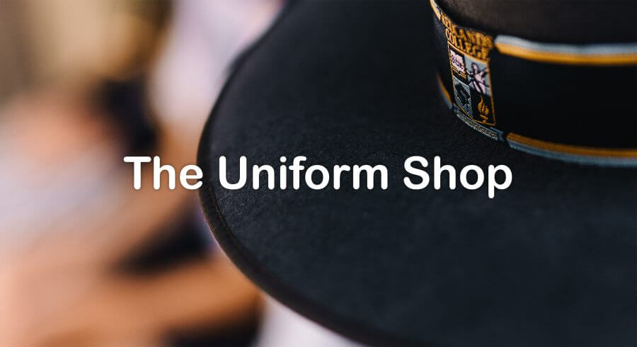 Uniform Shop Closure for 2020