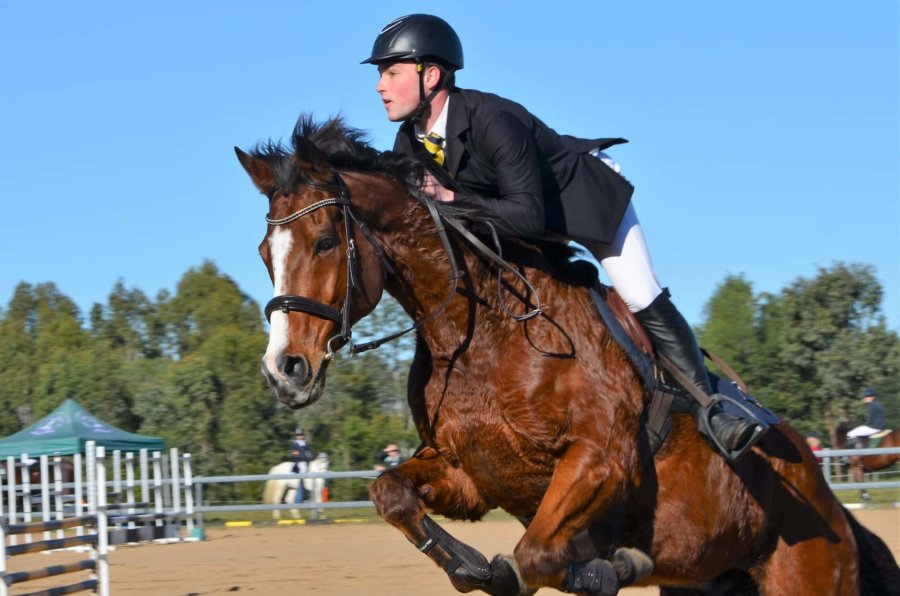This is a SHOUT OUT to our 1 man Equestrian Team: Harrison Waldron